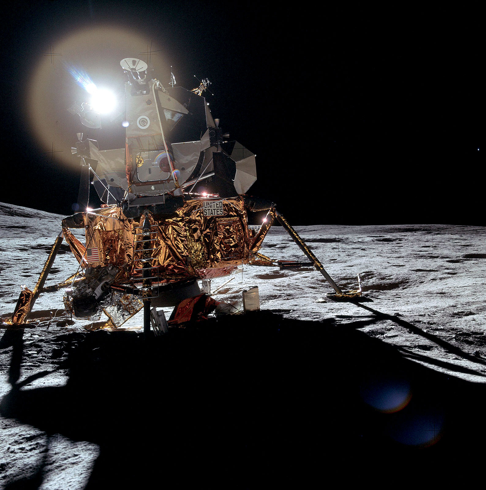apollo 14 lunar module -#main