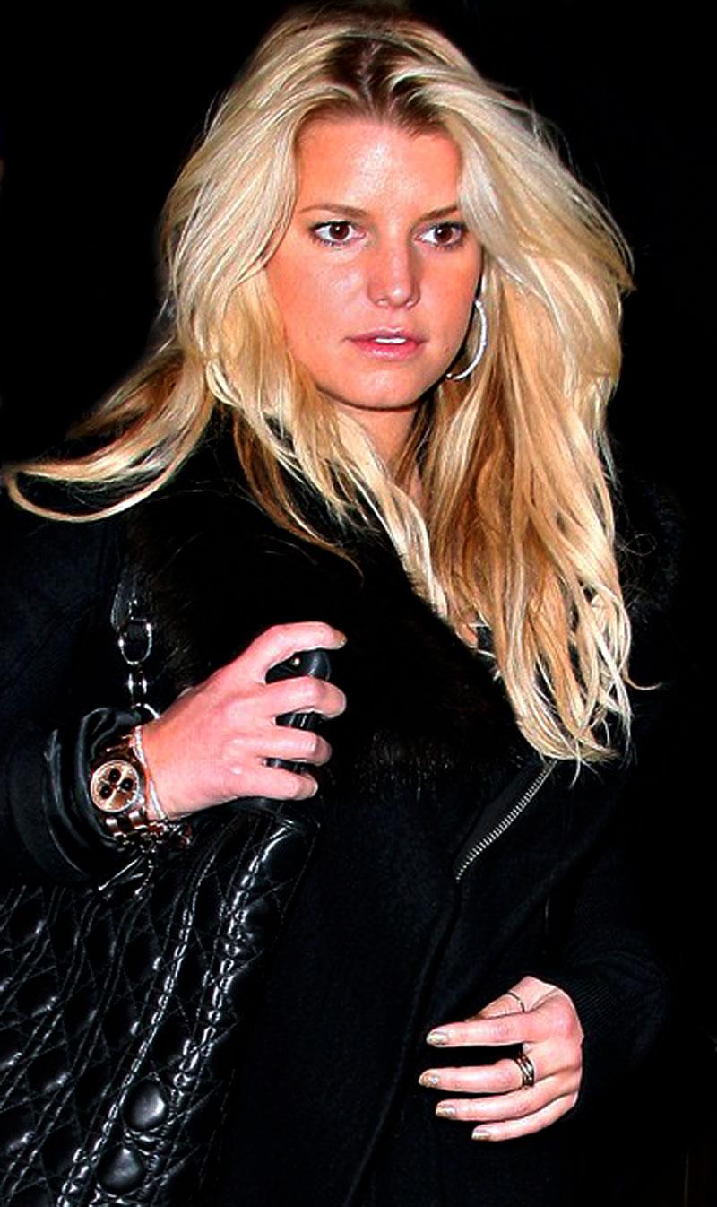 Jessica Simpson Rolex Daytona