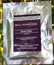Breast Mask Bali Home Spa Bali