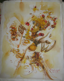 Lukisan Tari Bali