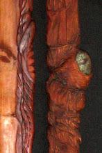 detail of Three Trees