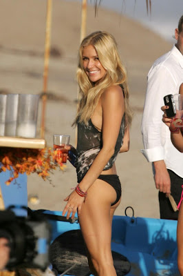 Kristin Cavallari In Bikini on bech