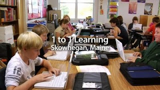 Technology rich curriculum activities at Skowhegan Area Middle School (ME)