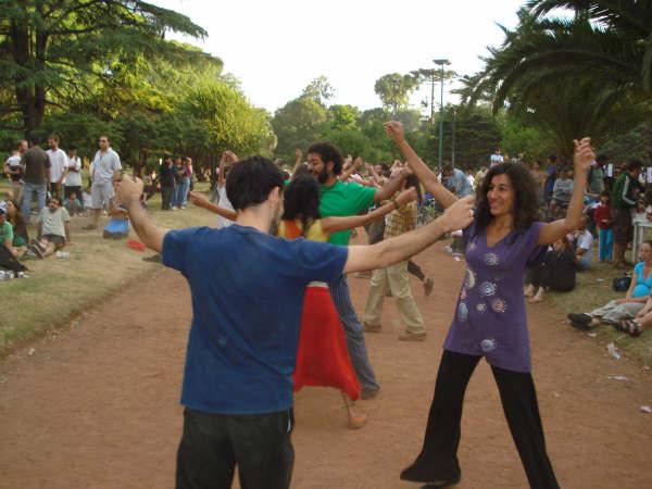 Baile de cerca