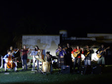 La orquesta Pura Muña en la Lechuza