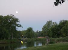 La luna...