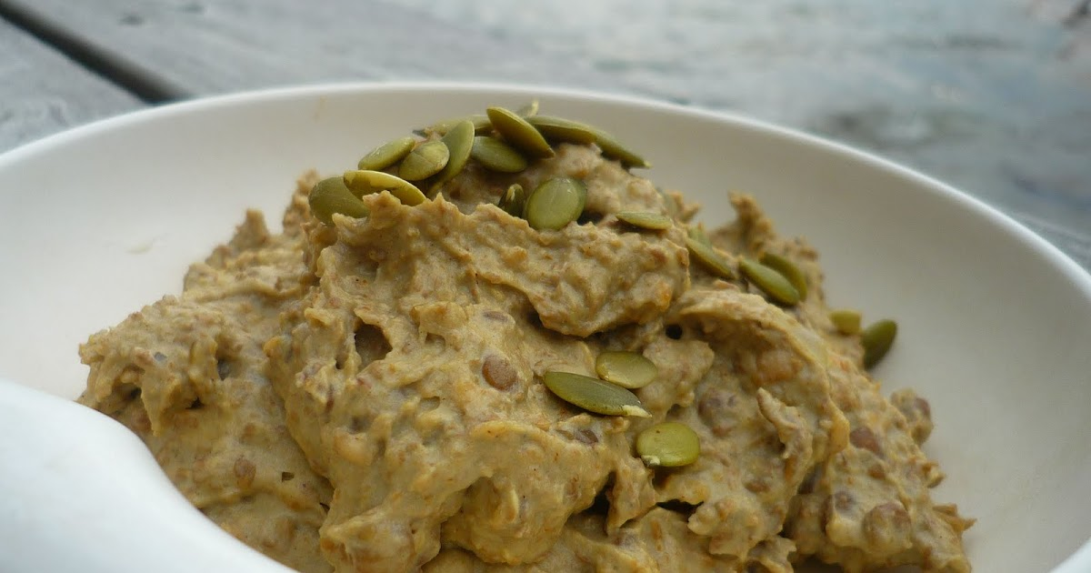 Sketch-Free Eating: Indian Lentil Pumpkin Seed Hummus (Vegan, GF)