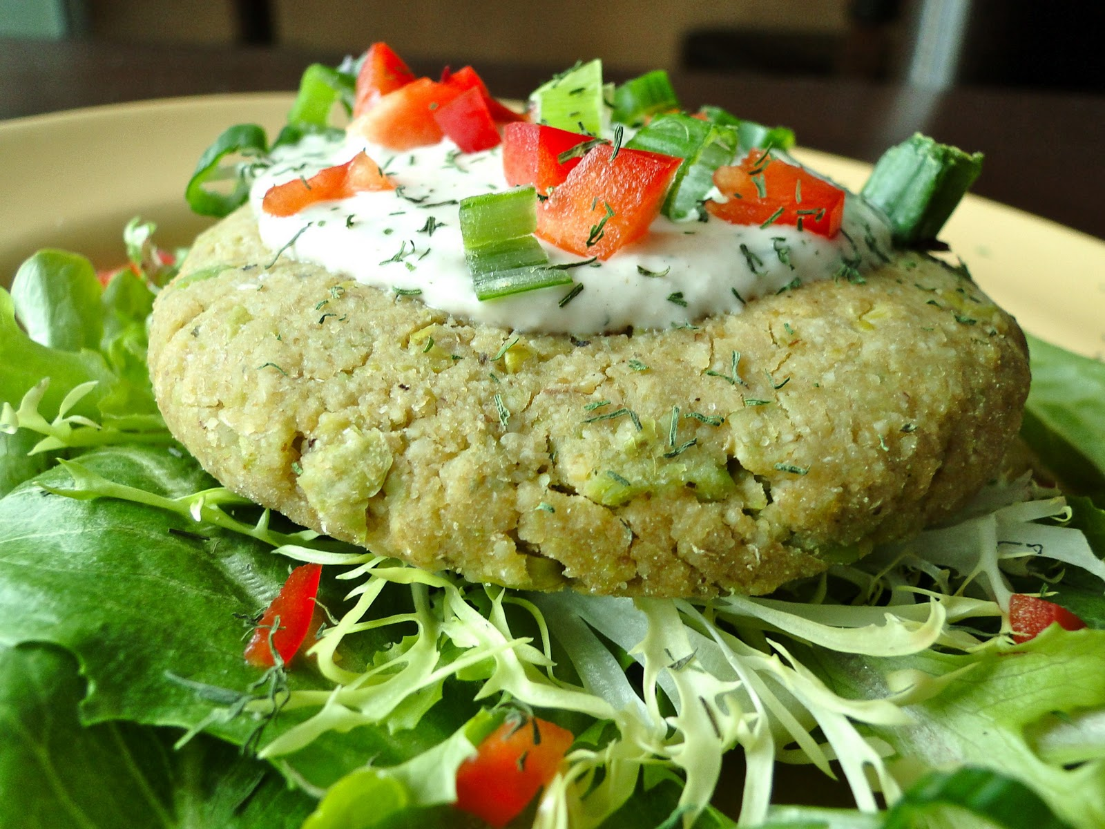 ... Eating: Chickpea-Edamame Burgers with Tahini-Dill Sauce (Vegan, GF