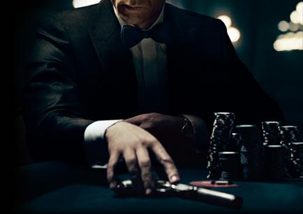 Playing poker hungover