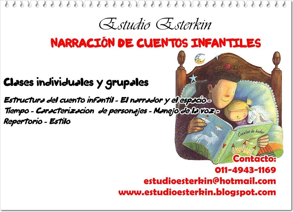 Estudio Esterkin: Narración de cuentos infantiles