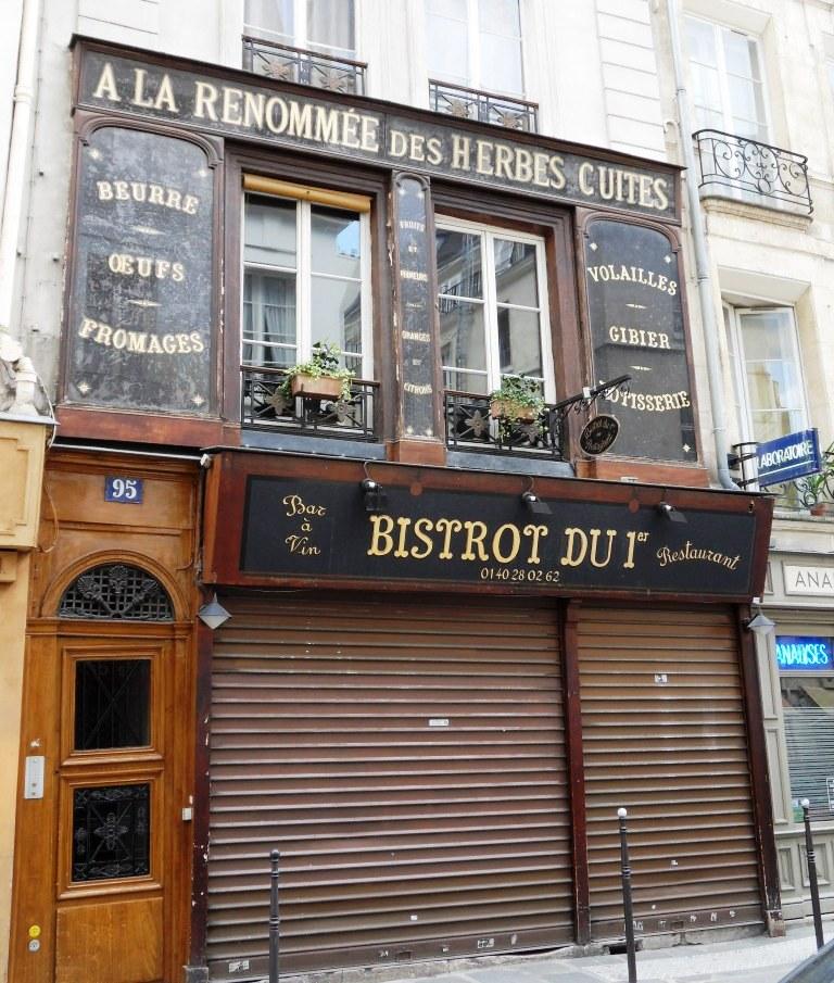 anciennes devantures parisiennes la parisienne du nord. Black Bedroom Furniture Sets. Home Design Ideas