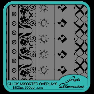 CU OK Assorted Overlays SD+CU+ASSRTD+OVERLAYS+PREVIEW