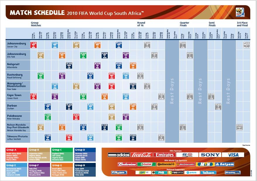 fifa world cup 2015 schedule pdf