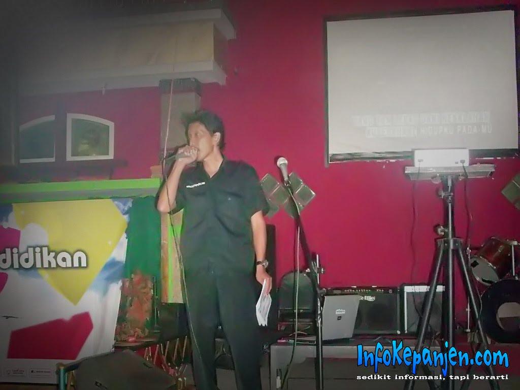 InfoKepanjen.com - Ketua Panitia, Herman Hidayat ketika Memberikan
