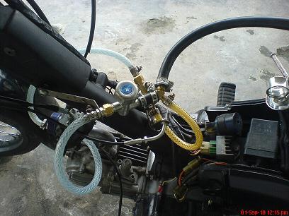 pernah digunakan untuk modifikasi genset menjadi berbahan bakar gas