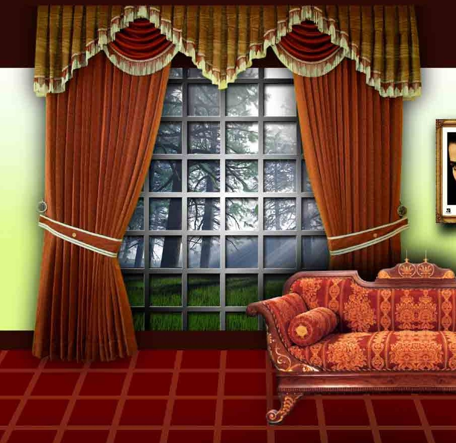 Curtain Design Dream House