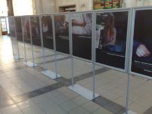 Wystawa na dworcu PKP w Krakowie
