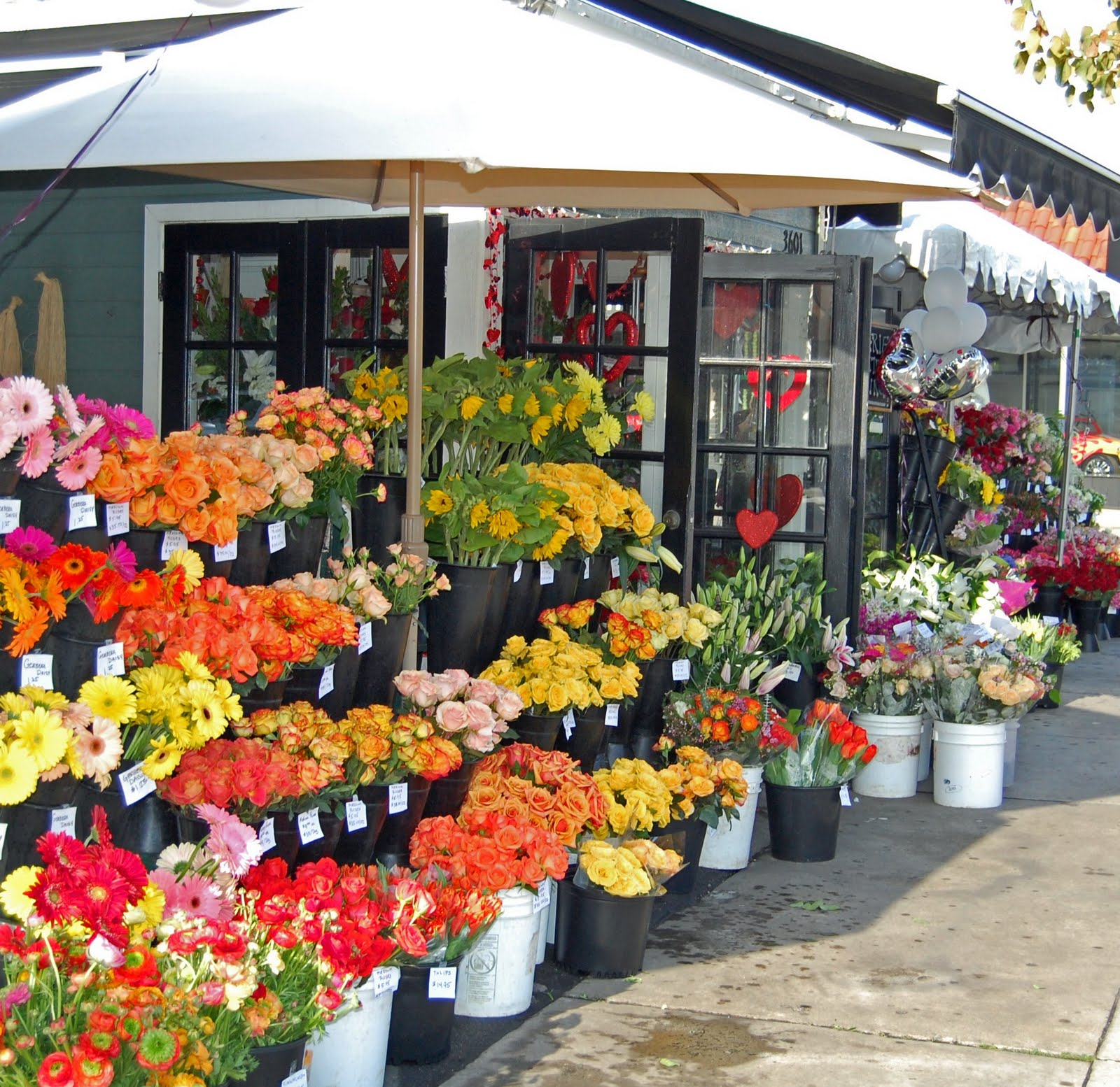 My Painted Garden Flower Market Inspirations