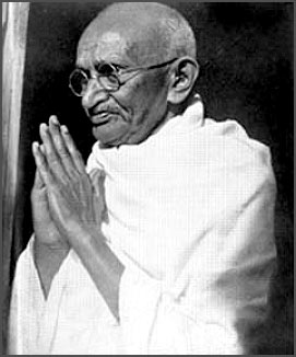 Mohandas Gandhi