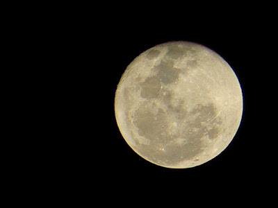 Photo of the first full moon of 2011, Philippines
