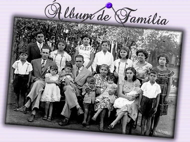 Família Gonsalves reunida em 1951