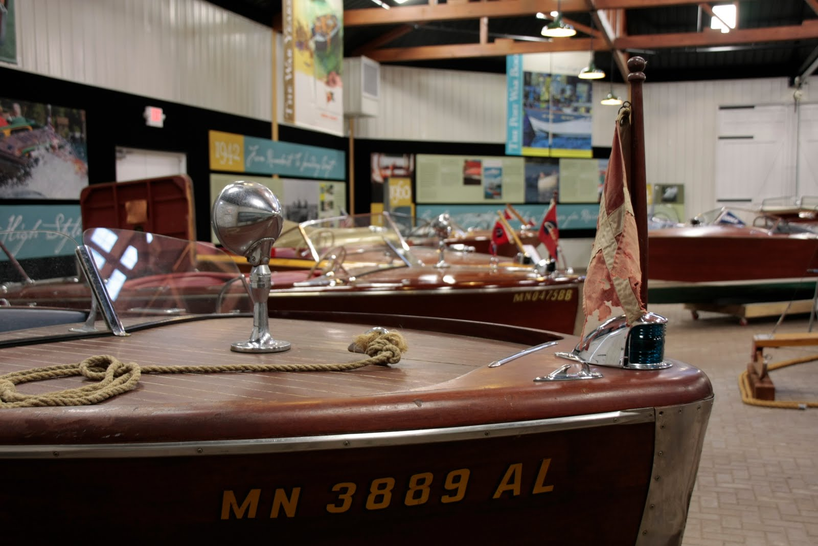 Woody Boater | Antique and