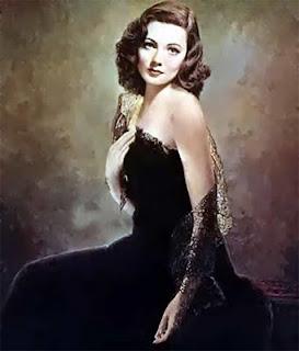 Robs Webstek: Gene Tierney - The Painting Of Laura