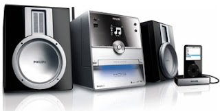 launched a novel wireless stereo amongst cool looking pattern Philips' New Wireless Stereo