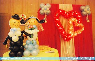 Wedding Balloons  Decorations on Wedding Banquet Decorations I Seremban Venue