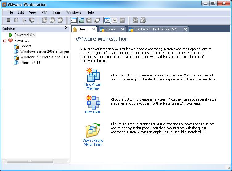 logiciels de virtualisation