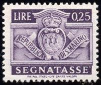 Repubblica di S. Marino - Segnatasse