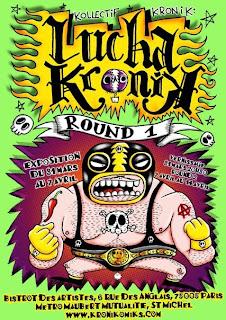 Lucha Kronik - flyer Jokoko