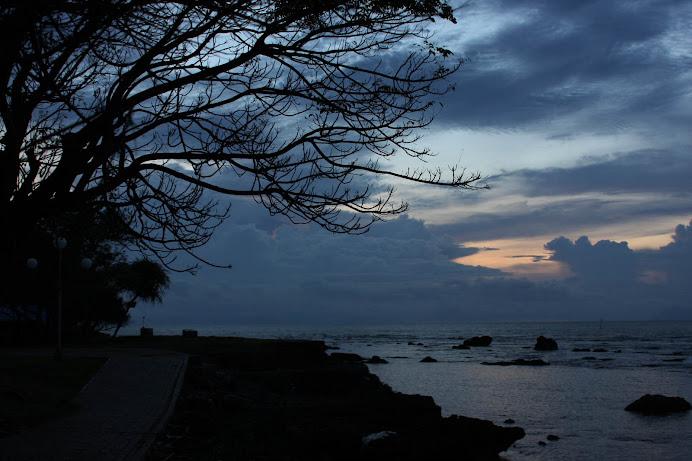 Senja di Pantai Anyer