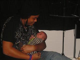 Big Brother and Newborn Baby Boy