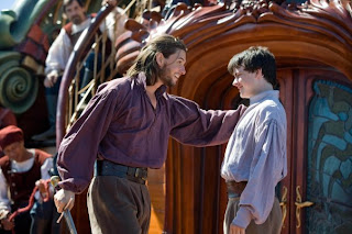 Ben Barnes as King Caspian and Skandar Keynes as Edmund Pevensie in The Chronicles of Narnia: The Voyage of the Dawn Treader