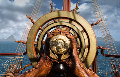 The Helm of the Dawn Treader in The Chronicles of Narnia: The Voyage of the Dawn Treader