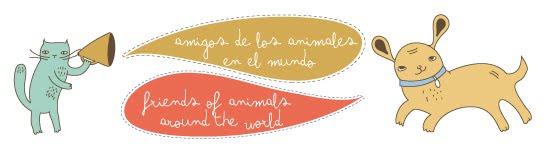 amigos de los animales en el mundo