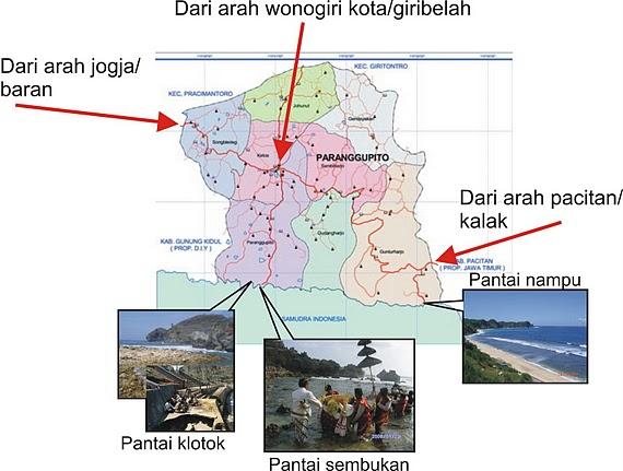 PARANGGUPITO MAP