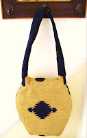 Cherryellie Gold & Navy Handbag