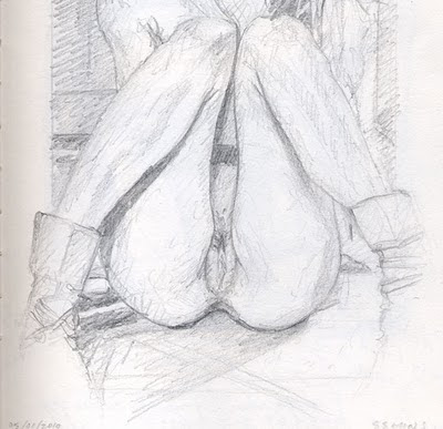 nude sketch1 Nude Drawing 2005