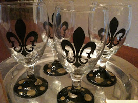 Saints Glasses!! WHO DAT!