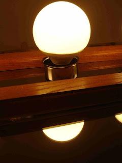 bath mirror CFL