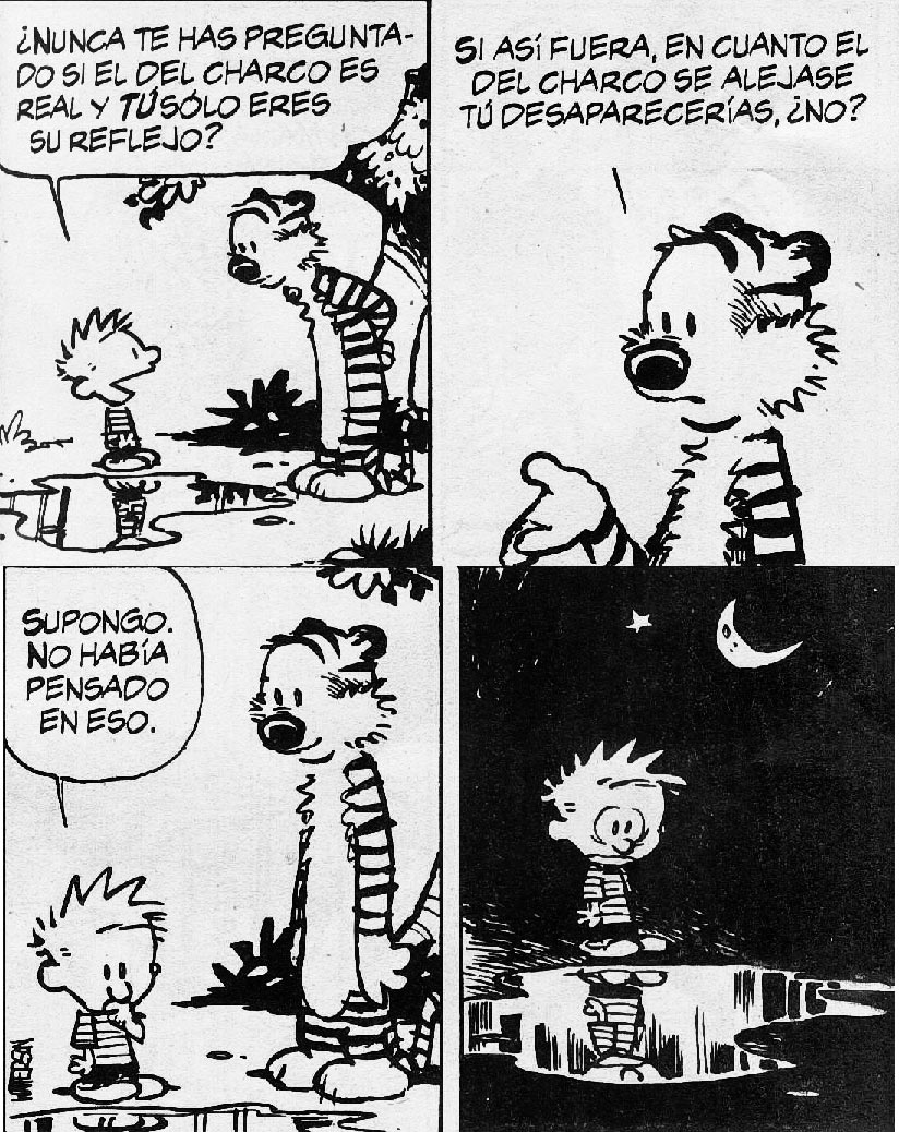 """ethical relativism and calvin and hobbes I s there a god if so, is there one god or multiple gods who is he how do we know him what does he require of us welcome to what is known as """"the great."""