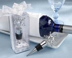 Christmas Bottle Stopper Favor