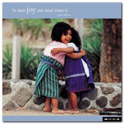 cartão motivacional alegria