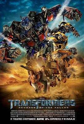 transformers2 vingança dos derrotados poster
