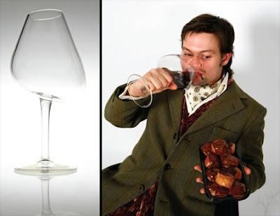 taça vinho pecado capital gula