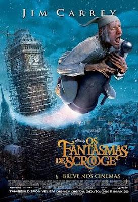 filme fantasmas de scrooge poster