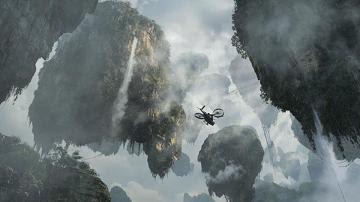 filme avatar montanhas flutuantes