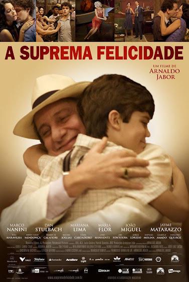 filme a suprema felicidade arnaldo jabor poster cartaz